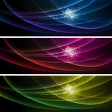 Colorful Banner Background Royalty Free Stock Images