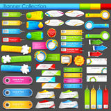 Colorful banner jumbo collection Stock Photos