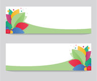 Colorful banner Royalty Free Stock Photos
