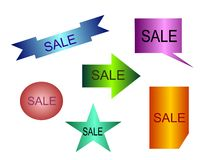 Colorful Banner Vector Set Royalty Free Stock Photo