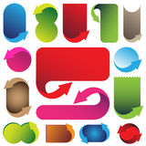 Colorful banners Royalty Free Stock Image