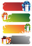 Colorful Banners Royalty Free Stock Photography