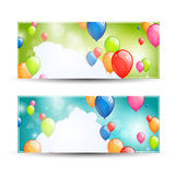 Colorful Banners Royalty Free Stock Images