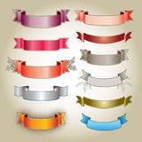 Colorful Banners Royalty Free Stock Photos