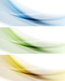 Colorful banners. Gradient mesh Stock Photo