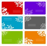 Colorful banners set. A colorful decorative banners set Royalty Free Stock Photos