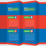 Colorful Banners. Stock Images