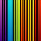 Colorful Bar code Stock Photography
