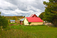 Colorful Barn Royalty Free Stock Image