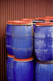 Colorful barrel. Royalty Free Stock Photo