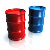 Colorful Barrel Royalty Free Stock Photography