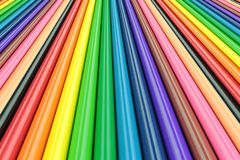 Colorful bars with perspective Royalty Free Stock Image