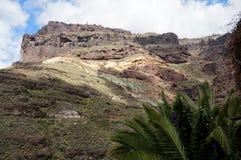Colorful basalt rocks Royalty Free Stock Image