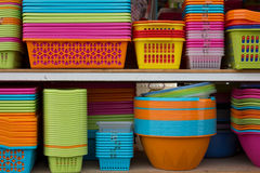 Colorful basket Royalty Free Stock Image