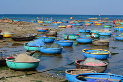Free Colorful Basket Boats Royalty Free Stock Photo - 68841275