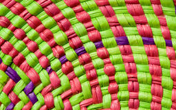 Colorful basket texture Stock Photos