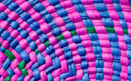 Colorful basket texture Stock Photo