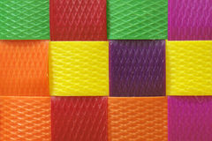 Colorful  basket  texture Stock Photography