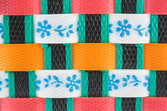 Colorful basket Stock Image