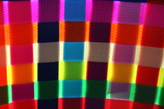 Colorful basket weaving glow Royalty Free Stock Images