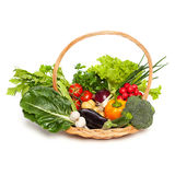 Colorful basket Royalty Free Stock Photos
