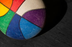 Colorful basketball Royalty Free Stock Images