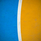 Colorful of Basketball field Royalty Free Stock Photography