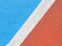 Colorful of Basketball field background Stock Images