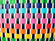 Colorful of Basketry Stock Photo