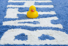 Colorful Bathmat Royalty Free Stock Image