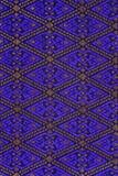 Colorful batik cloth fabric background Stock Images