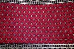 Colorful batik cloth fabric background Stock Image