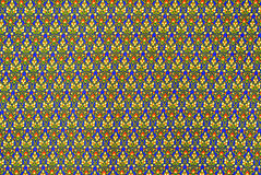 Colorful batik cloth fabric in thai style Royalty Free Stock Photos