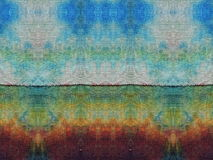 Colorful batik fabric texture Royalty Free Stock Photo
