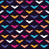 Colorful bats Stock Photo