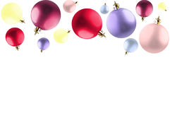 Colorful baubles. Stock Photos