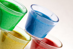 Colorful Bavareses Dessert Royalty Free Stock Photo