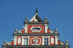 Colorful Bavarian building Royalty Free Stock Images