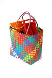 Colorful beach bag Royalty Free Stock Image
