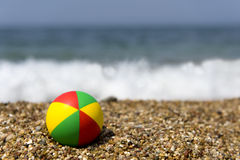 Colorful beach ball Royalty Free Stock Photography