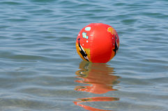A colorful beach ball Stock Image