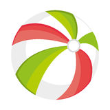 colorful beach ball, graphic Royalty Free Stock Photography
