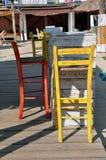 Colorful beach bar Stock Photo