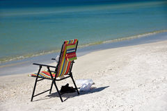 Colorful Beach Chair Royalty Free Stock Images