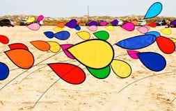 Colorful beach decor Stock Image