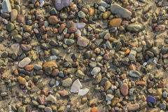 Colorful Beach Rocks Royalty Free Stock Images