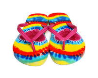 Colorful Beach Thongs Royalty Free Stock Photography