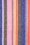 Colorful beach towel Stock Photography