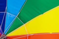 Colorful Beach Umbrella Stock Images