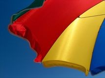 Colorful Beach Umbrella Royalty Free Stock Photography